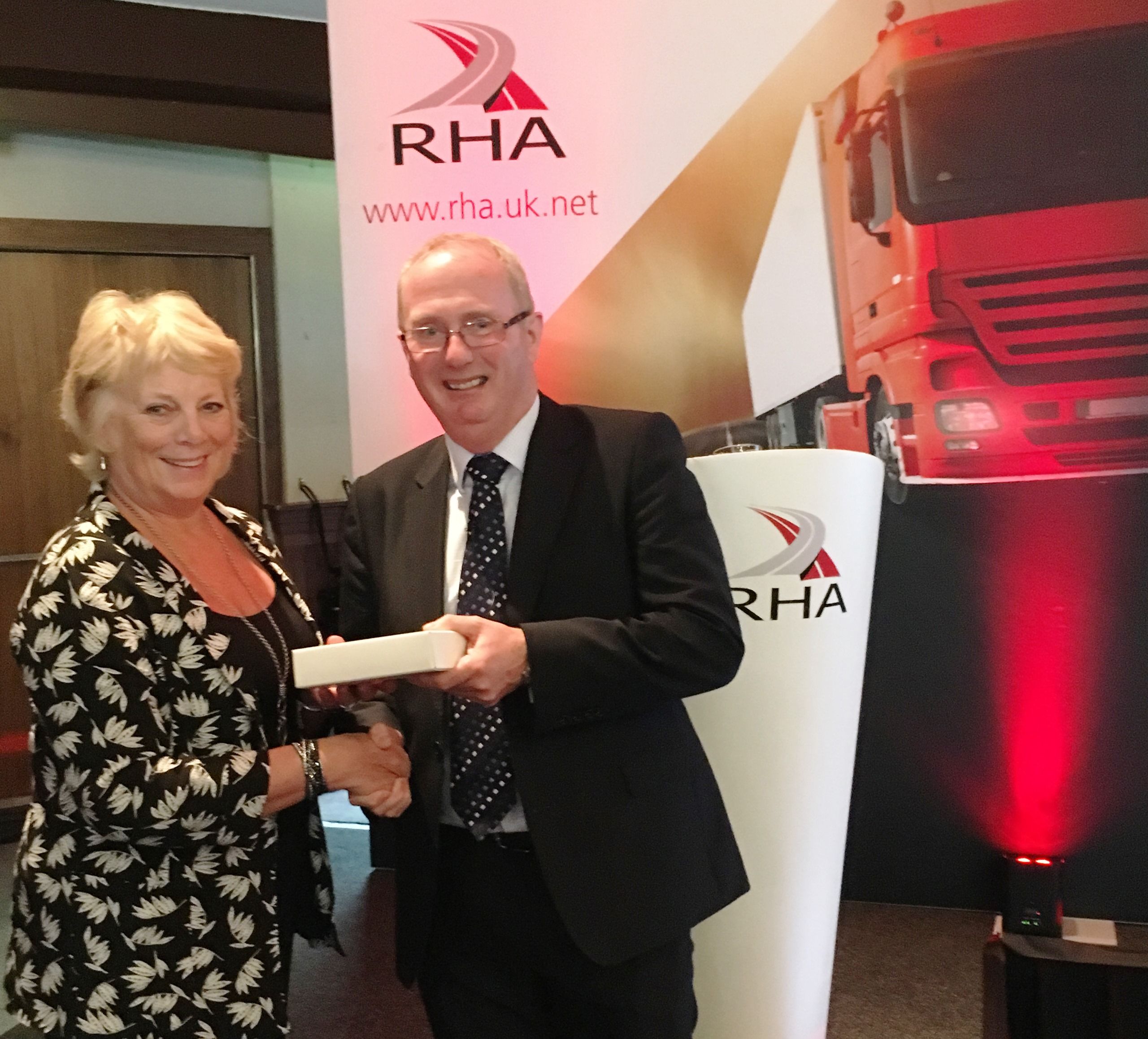 The winner was Catriona MacLennan of MacLennan Motors Limited and it was presented by Iain Mitchell, RHA Scotland & Northern Ireland Chairman.