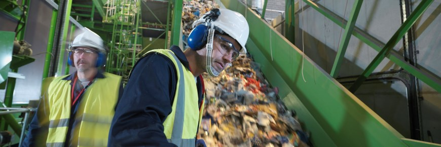 Alternative funding for the waste industry