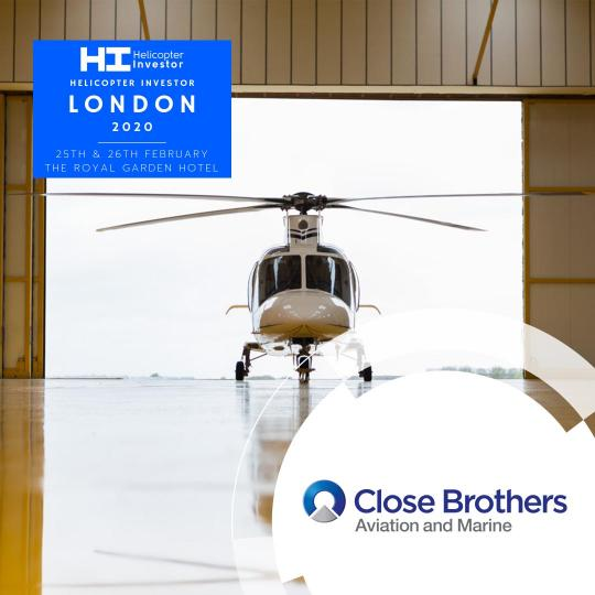 Helicopter Investor London 2020