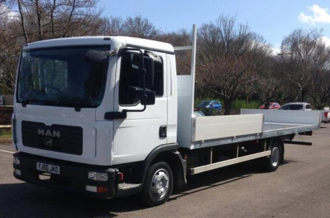 2010 (60) MAN TGL 7.180 7.5t Flatbed 2