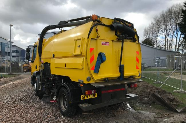 2007 DAF LF55 Johnston VT650 Road Sweeper 2