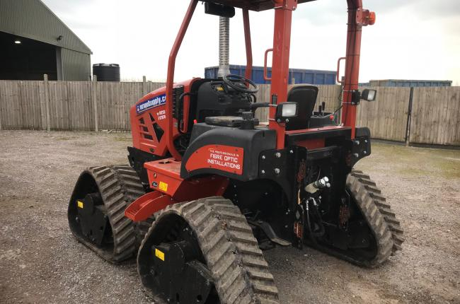 2017 Ditch Witch RT80 Quad Track FTTH System 4