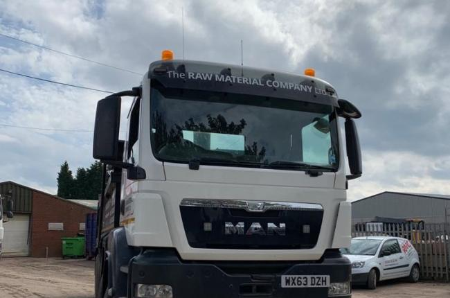 63 Plate MAN Tipper 2