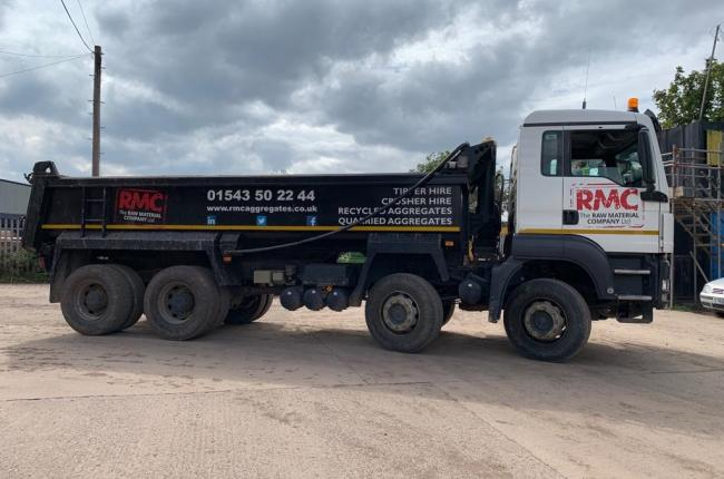 63 Plate MAN Tipper