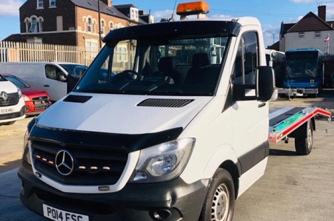 2014 Mercedes Sprinter 313 CDI 2.1 c/w new 2019 AMS recovery body incl winch