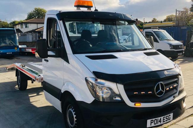 2014 Mercedes Sprinter 313 CDI 2.1 c/w new 2019 AMS recovery body incl winch  2