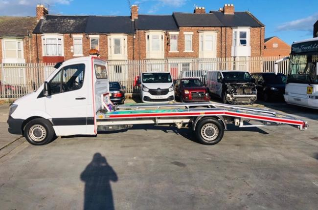 2014 Mercedes Sprinter 313 CDI 2.1 c/w new 2019 AMS recovery body incl winch  9