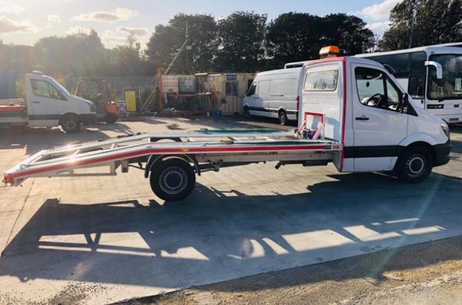 2014 Mercedes Sprinter 313 CDI 2.1 c/w new 2019 AMS recovery body incl winch  11