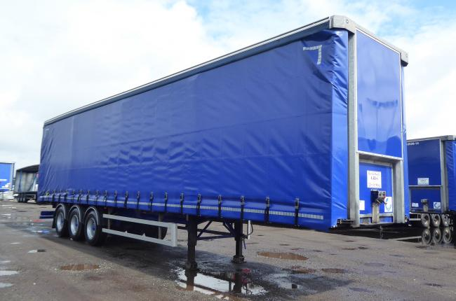 2014 SDC 4.48m Curtainsider