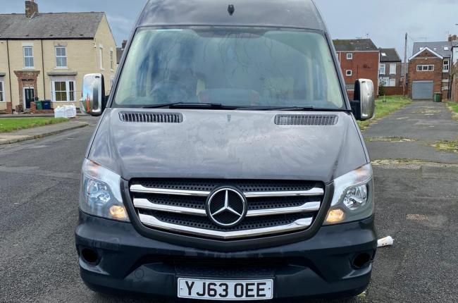2013 Mercedes sprinter 313 XLWB 8 seat Mini Bus