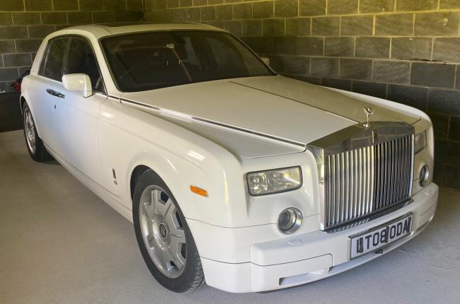 2008 Rolls Royce Phantom Saloon