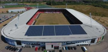 Doncaster Rovers to save £1m from new solar panel array