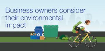 Business owners prioritise cost of goods over their environmental impact