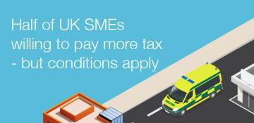 UK SMEs prepared to pay more tax – but conditions apply