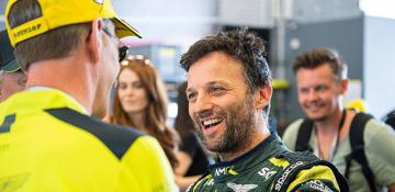 Darren Turner: Turner helps Aston Martin to another historic landmark