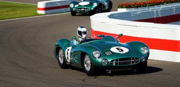 Turner takes podium on return to Goodwood Revival