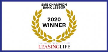 Leasing Life's SME Champion Bank Lessor 2020