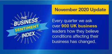 Business Sentiment Index – November 2020