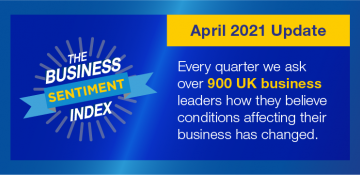 Business Sentiment Index – April 2021