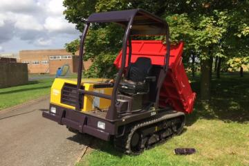 3x 2016 Canycom S25A 180 Degree Pivoting Dumpers