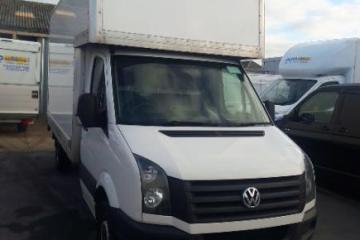 15 Plate VW Crafter Luton
