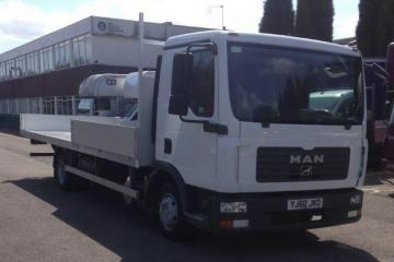 2010 (60) MAN TGL 7.180 7.5t Flatbed