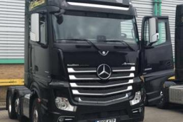 2016 LHD Mercedes Actros 2663LS Gigaspace cab