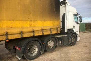 2011 Don Buhr PM39BT Tri-Axle Curtainsider Trailer