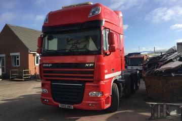 2012 DAF XF105.510 8x4 Heavy Haulage Unit