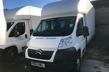 2013 Citroen Luton 2.2HDI 35 c/w Tail Lifts