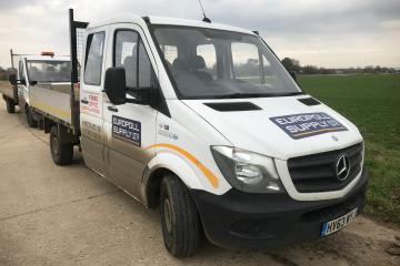 2013 Mercedes Sprinter 313 CDI MWB Tipper