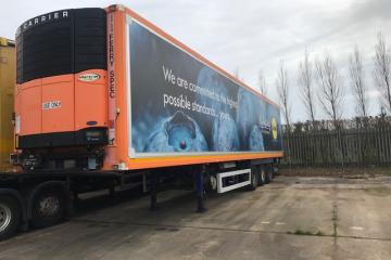 2009 G&A Tri-Axle Fridge Trailer