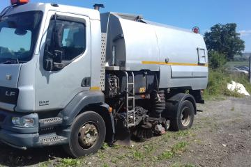 2006 DAF LF55 Johnston VT650 Road Sweeper
