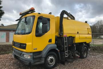 2007 DAF LF55 Johnston VT650 Road Sweeper