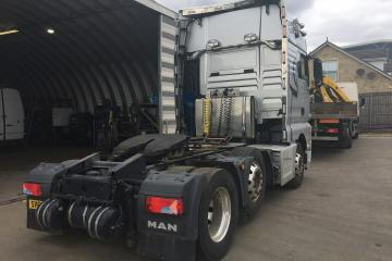 Man  Tex 560 6x4 Mid Lift  milage 440.152 Kilometers