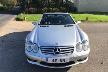 2004 Mercedes SL55 AMG Convertible