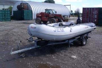 2013 Honwave T40 Evinrude 25HP