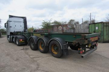 2009 SDC Tri Axle Sliding Skelly