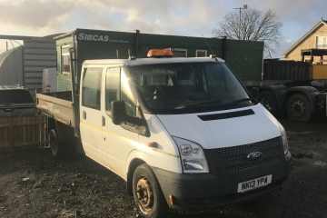 2013 Ford Transit Tipper