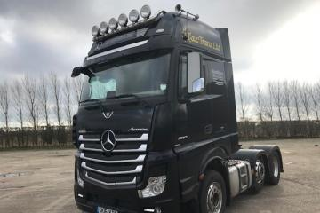 2016 Mercedes Actros 2663 LS VLA Roadstars Limited Edition