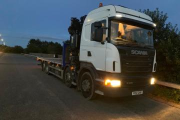 2012 Scania R440 4 Axle Rear Lift