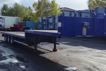 2010 SDC Step Platform Trailer