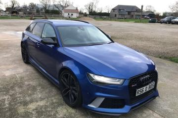 2016 Audi RS6 Avant Quattro Estate