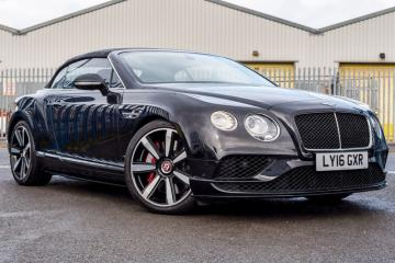 2016 Bentley GTC Convertible 4L V8S Mulliner Driving Spec