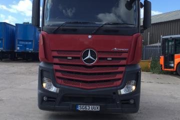 2013 Mercedes Actros 254 6x2 Big Space