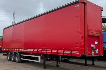 2014 SDC 4.63m ENXL Red Curtainsider
