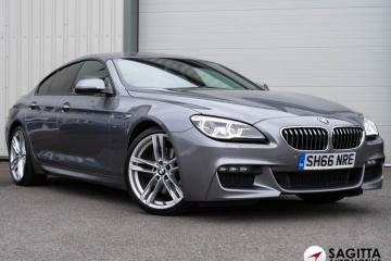 BMW 6 SERIES 3.0 640d M Sport Gran Coupe Auto (s/s) 4dr - 2016 (66 plate)