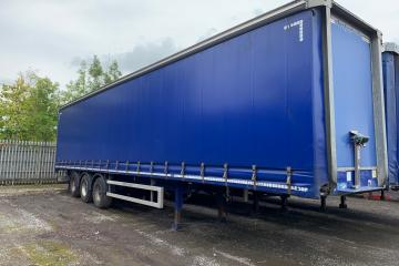 2014 Montracon 4.27m Curtainsider Trailer