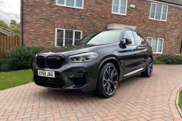 2019 BMW X3 M Competition S58T
