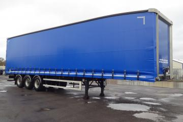 2015 & 2016 Lawrence David 4.4m Aero Front ENXL Curtainsiders